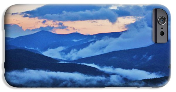 Pathway iPhone Cases - Smoking iPhone Case by Chuck  Hicks