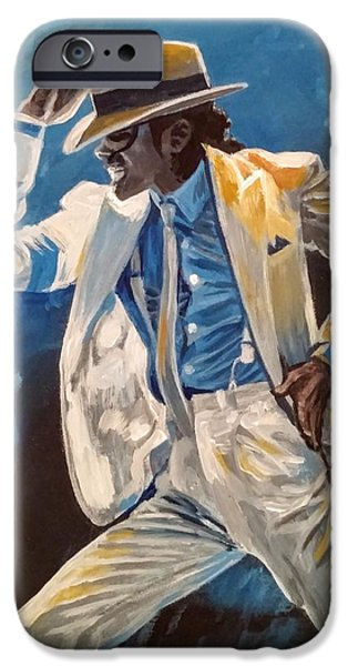 Smooth Criminal iPhone Cases - Smooth Criminal iPhone Case by Jennifer Hotai