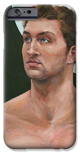 Tim Tebow Paintings iPhone Cases - Snips and Snails iPhone Case by William Noonan