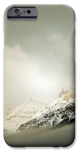 Snow Capped Banff iPhone Case by Andrea Hazel Ihlefeld