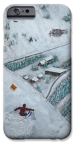 snowbird steeps iPhone Case by Michael Cuozzo