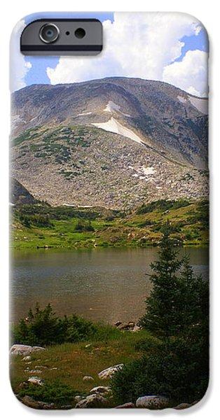 Snowy Mountain Loop 9 iPhone Case by Marty Koch