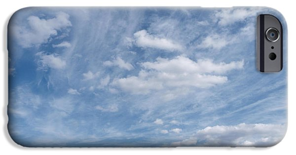 Rainy Day iPhone Cases - Soar...cloudscape iPhone Case by Tom Druin