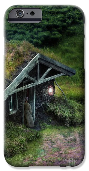 Sod iPhone Cases - Sod House iPhone Case by Jill Battaglia