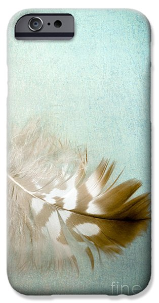 Scanography iPhone Cases - Softly iPhone Case by Jan Bickerton