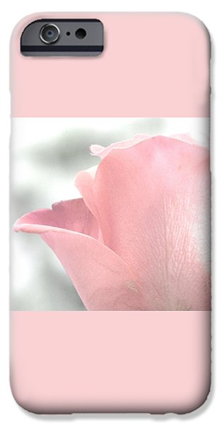 Pastel iPhone Cases - Softly On A Summer Breeze iPhone Case by Angela Davies
