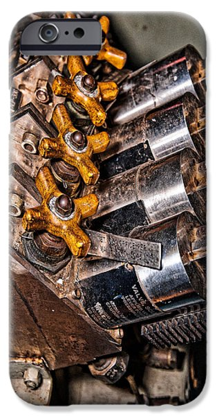 Solenoid iPhone Cases - Solenoid Valves iPhone Case by Christopher Holmes