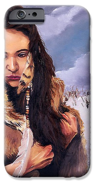 Solitude iPhone Case by J W Baker