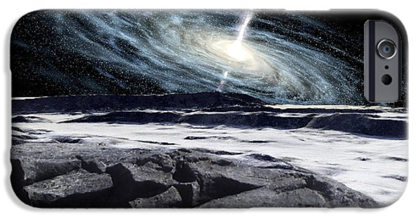Disc iPhone Cases - Some Galaxies Have Powerfully Active iPhone Case by Ron Miller