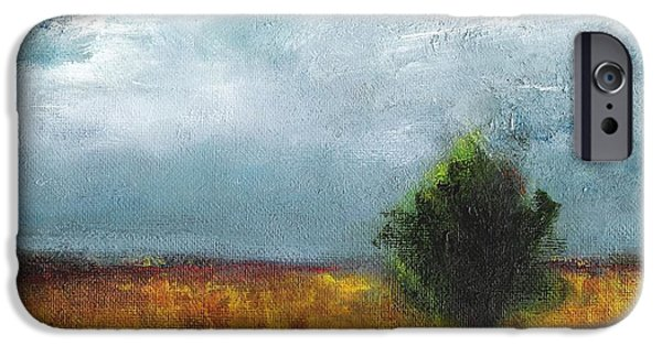 Impressionistic Landscape Paintings iPhone Cases - Sometimes The Light is Just Right iPhone Case by Frances Marino