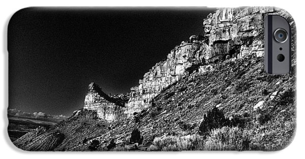Drama iPhone Cases - Somewhere in Mesa Verde iPhone Case by William Fields
