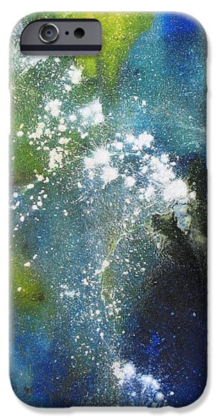 Business iPhone Cases - Somewhere Out There iPhone Case by Louise Adams