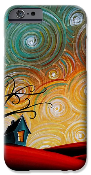 House iPhone Cases - Songs Of The Night iPhone Case by Cindy Thornton