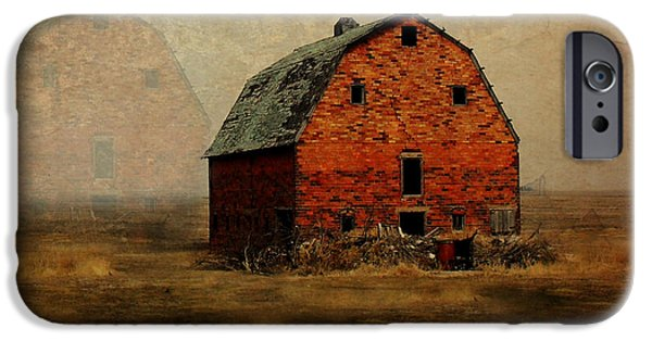 Rural Decay Digital Art iPhone Cases - Soon to be Forgotten iPhone Case by Julie Hamilton