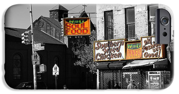 Harlem iPhone Cases - Soul Food 2 iPhone Case by Andrew Fare