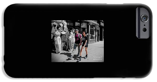 Dave iPhone Cases - Soul mates iPhone Case by Dave Hood