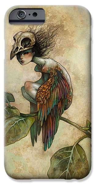 Soul Of A Bird IPhone 6 Case by Caroline Jamhour