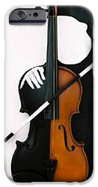 Abstract Expressionism Sculptures iPhone Cases - Soul Of Music iPhone Case by Steve Karol