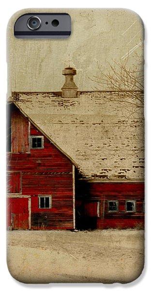 South Dakota Barn iPhone Case by Julie Hamilton