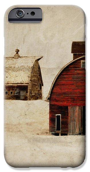 South Dakota Corn Crib iPhone Case by Julie Hamilton