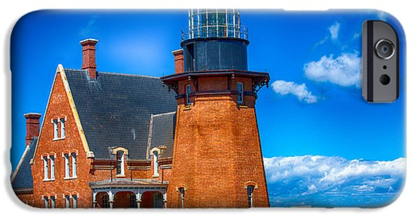 Lighthouse iPhone Cases - Southeast Lighthouse iPhone Case by Karol  Livote