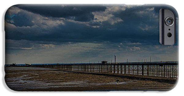 North Sea Photographs iPhone Cases - Southend Pier iPhone Case by Martin Newman