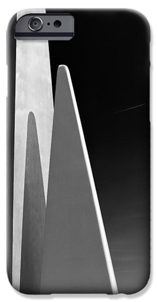 Space Port iPhone Case by Dave Bowman