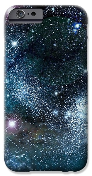 Space003 iPhone Case by Svetlana Sewell