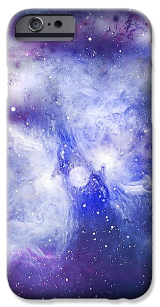 Space009 iPhone Case by Svetlana Sewell