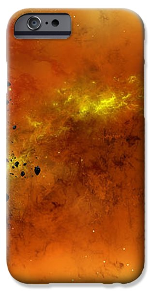 Space012 iPhone Case by Svetlana Sewell