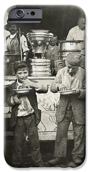 SPAGHETTI VENDOR, c1908 iPhone Case by Granger