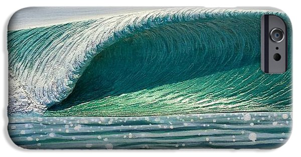 Ocean Reliefs iPhone Cases - Sparkle iPhone Case by Nathan Ledyard