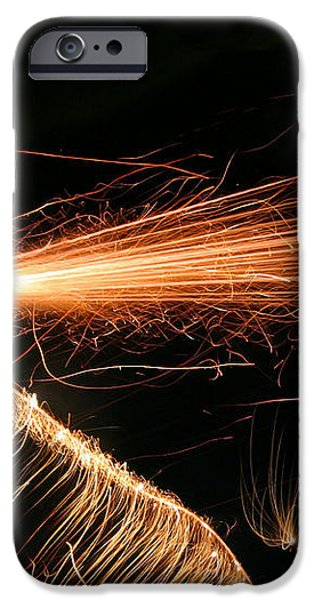 Sparks Will Fly iPhone Case by Kristin Elmquist
