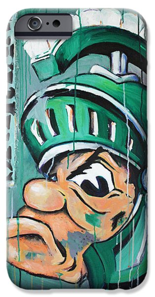 Tan iPhone Cases - Spartans iPhone Case by Julia Pappas