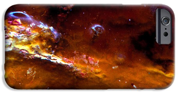 Abstract Movement Mixed Media iPhone Cases - Spatial Interface II iPhone Case by Kika Pierides