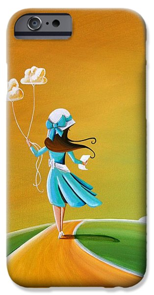 Illustrative iPhone Cases - Special Delivery iPhone Case by Cindy Thornton