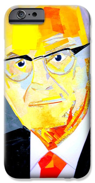 D.c. iPhone Cases - Spencer W Kimball iPhone Case by Paul Frederick Bush