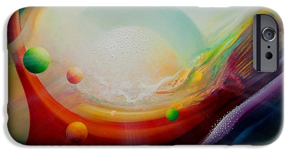 Virtual iPhone Cases - Sphere Q2 iPhone Case by Drazen Pavlovic