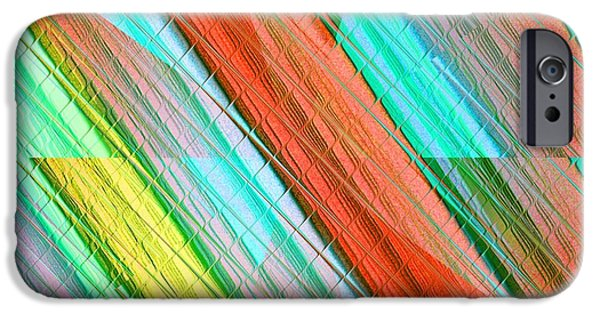 Abstract Digital Art iPhone Cases - Spikeswordia Catus 1 no. 1 H a iPhone Case by Gert J Rheeders