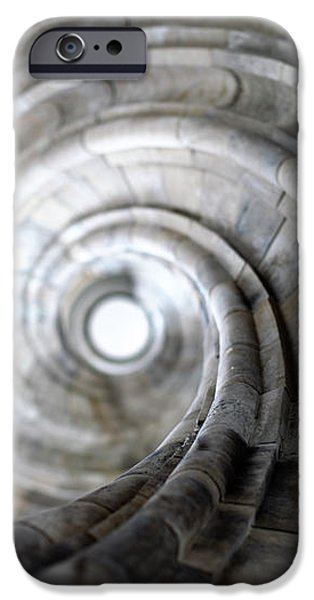 Spiral staircase iPhone Case by Falko Follert