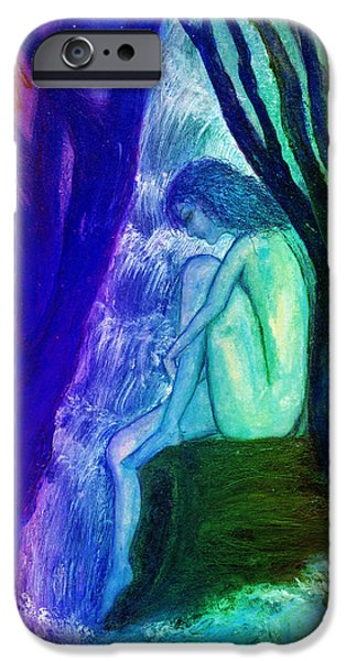 Spirit Guides II iPhone Case by Patricia Motley