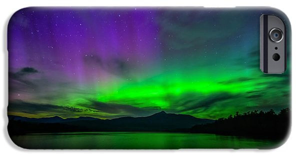 Mt Chocorua iPhone Cases - Spirit of Chocorua iPhone Case by Scott Thorp