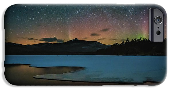 Mt Chocorua iPhone Cases - Spirit of the Mountain iPhone Case by Scott Thorp