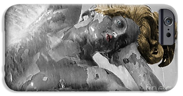 Statue Portrait iPhone Cases - Spirit Of Water iPhone Case by Lyric Lucas
