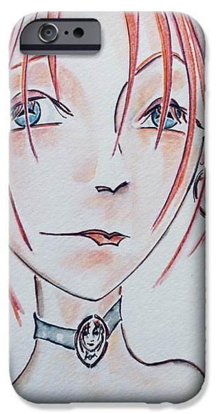 Missing Child iPhone Cases - Spitting Image iPhone Case by Barbara Chase
