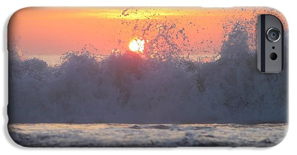 House Md Art iPhone Cases - Splashing High iPhone Case by Robert Banach