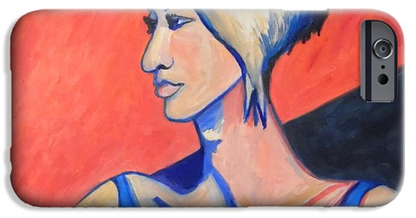 Sheets iPhone Cases - Split Personality iPhone Case by Esther Newman-Cohen