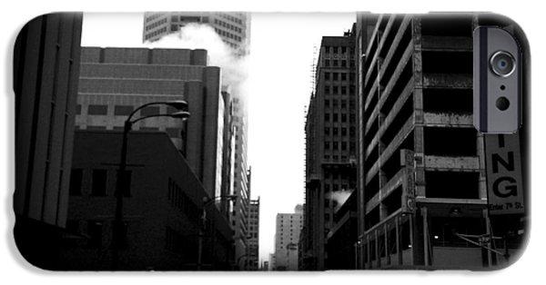 Crosswalk iPhone Cases - Spotlight iPhone Case by Henry Lohmeyer