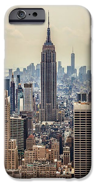 United iPhone Cases - Sprawling Urban Jungle iPhone Case by Az Jackson