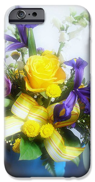 Spring Bouquet iPhone Case by Sandy Keeton